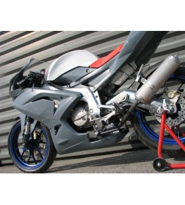 Carénage en 2 parties Aprilia 125 RS 2006-2010 VUE 2