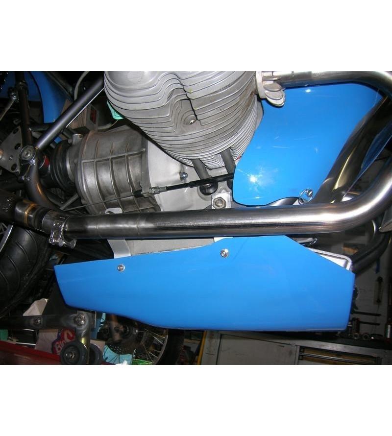 Bac récupérateur d'huile pour usage piste BMW R50 et R69 monté