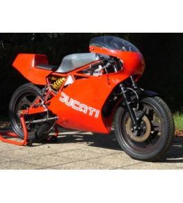 Carénage en 2 parties Ducati 600 TT2 vue de droite