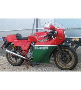 Carénage en 2 parties Ducati Mike Hailwood Réplica monté