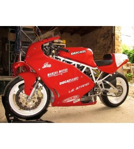Carénage en 3 parties Ducati Supersport 600/750/900 SS montage 1