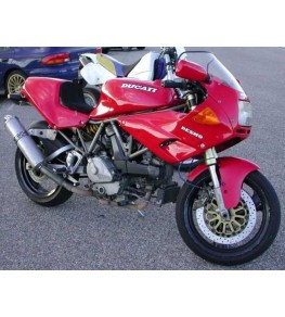 Demis flancs Ducati Supersport 600/750/900 SS montés