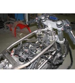 Réservoir polyester Ducati 900 SS Café Racer modification 2