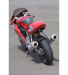 Dosseret de selle monoplace Ducati Supersport IE monté et peint