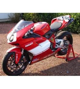 Coque arrière monoplace Ducati 848 1098 et 1198 complète