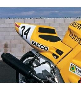 Coque arrière monoplace Honda 600 CBR 91 piste