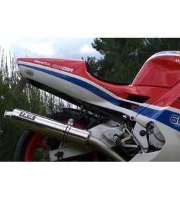 Coque arrière monoplace Honda 600 CBR 91 montage 2 peinte