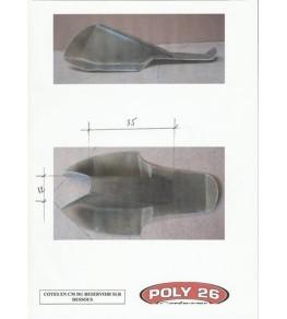 Réservoir polyester transfo SLR 650 côtes partie inférieur