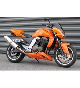 Sabot moteur Z 750 04-06 vue sur moto complète