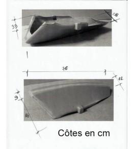 Sabot moteur 1000 R dimensions et côtes
