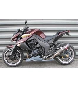 Sabot moteur long Z1000 10-13 vue sur moto complète gauche