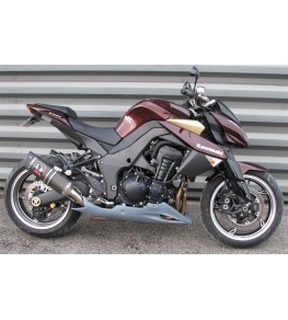 Sabot moteur long Z1000 10-13 vue sur moto complète droit
