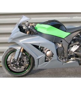 Carénage en 2 parties ZX10R 11-14