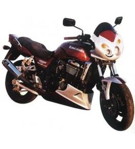 Garde boue avant racing ZRX 1100 et 1200 vue sur moto complète