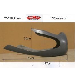 Tête de fourche Rickman Réplica côtes et dimensions