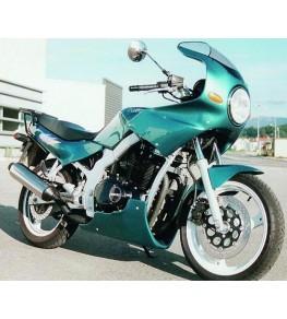Tête de fourche seule 500 GSE sur moto complète