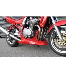 Sabot moteur Evo 4 Bandit 600 et 1200 monté et peint rouge