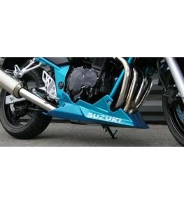 Sabot moteur Evo 4 Bandit 600 et 1200 monté et peint bleu