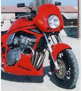 Garde boue avant Racing Bandit 600 95 99 monté et peint