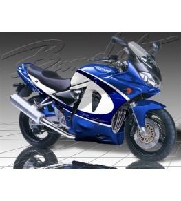 Bas de carénage Bandit S 600 et 1200 00-05 vue sur moto complète