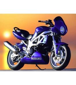 Sabot moteur Evo 1 SV 650 99-02 vue sur moto complète