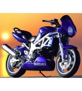 Tête de fourche SV 650 N Phare rond ue sur moto complète