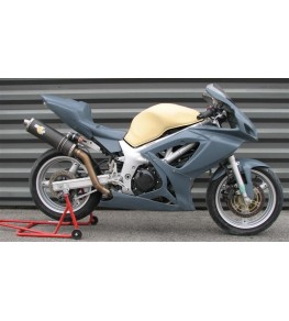 Carénage intégral Racing SVS 650 99-02 SVXR sur moto complète
