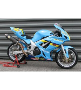 Carénage intégral Racing SVS 650 99-02 SVXR peinture perso GP Rizla