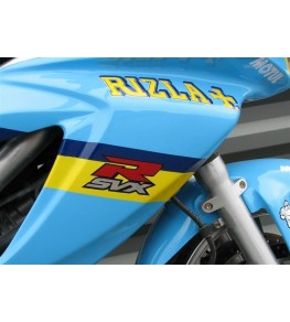 Carénage intégral Racing SVS 650 99-02 SVXR peinture GP Rizla 3