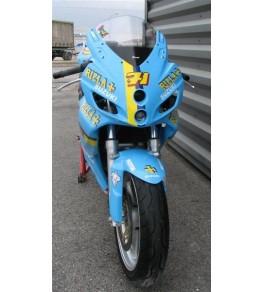 Carénage intégral Racing SVS 650 99-02 SVXR peinture Rizla vur avant