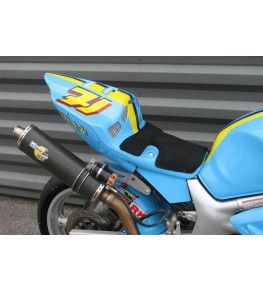Coque arrière monoplace Racing SV 650 99-02 SVXR peinture GP Rizla