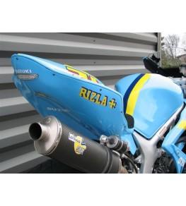 Coque arrière monoplace Racing SV 650 99-02 SVXR peinture GP Rizla 1