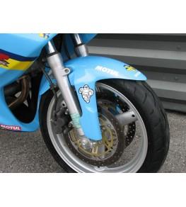 Garde boue avant Racing SVXR SV 650 99-02 peinture perso GP Rizla