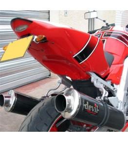 Coque arrière monoplace SV 650 03-10 GSXR Réplica vue arrière