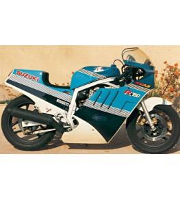 Carénage Endurance en 2 parties 750 GSXR 1985 montage 2