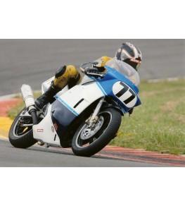 Carénage Endurance en 2 parties 750 GSXR 1985 sur piste Courses Classic