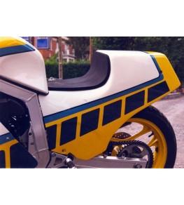 Coque arrière monoplace 750 GSXR 1985 profil gauche
