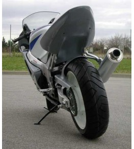 Passage de roue pour coque arrière mono 3085 monté