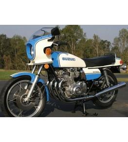 Tête de fourche GS 1000 S vue moto complète