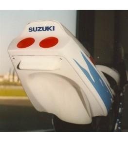 Coque arrière biplace 1100 GSXR 1989-1990 avec passage de roue