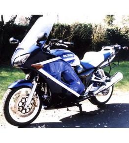 Carénage type GT en 3 parties 1400 GSX montage vue moto complète 1