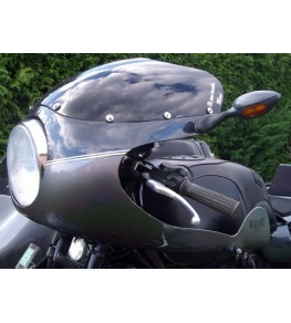 Tête de fourche Rétro TRX montage sur BMW R100 RT