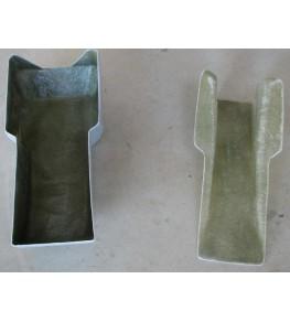 Réservoir d'essence polyester Style TZ en deux parties
