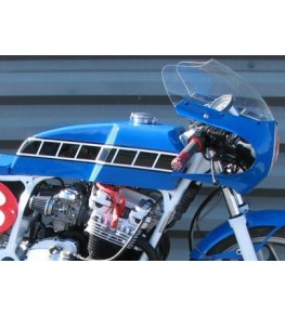 Réservoir d'essence polyester Style TZ montage XJ600 2