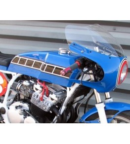 Réservoir d'essence polyester Style TZ montage XJ600 3