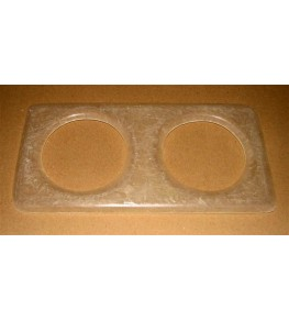 Platine pour optiques 135mm Entraxe 205mm vue 1
