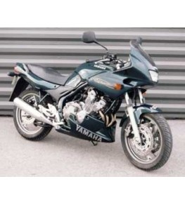 Sabot moteur 600 Diversion de 1992 vue sur moto complète