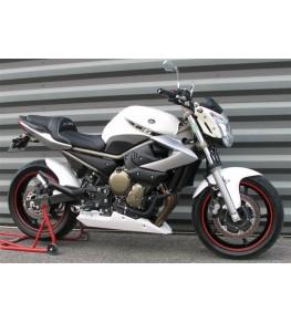Sabot moteur XJ6 09-14 modèle long vue droite sur moto complète