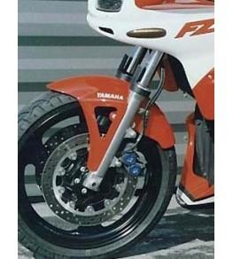 Garde boue avant Racing Fazer 600 98-01 vue gauche