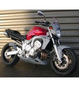 Garde boue avant Racing FZ6 04-06 vue moto complète